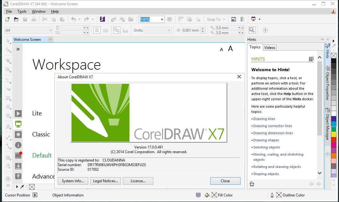 Coreldraw Graphics Suite X7 مدرسة المصممين